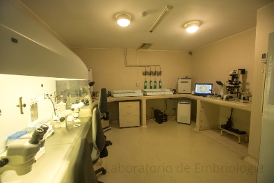 Laboratorio de embriología